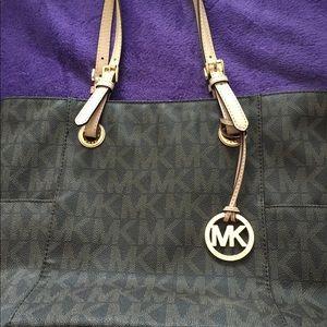 Michael Kors brown tote purse